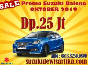 PROMO SUZUKI BALENO OKTOBER 2019