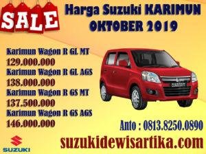 HARGA SUZUKI KARIMUN WAGON R OKTOBER 2019