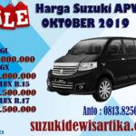 HARGA SUZUKI APV NOVEMBER 2019