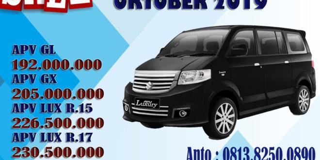 """Promo Murah Akhir Tahun 2019 Suzuki APV Arena Mobil Keluarga Interior VIP<span class=""""rating-result after_title mr-filter rating-result-5855"""" ><span class=""""no-rating-results-text"""">No ratings yet.</span></span>"""