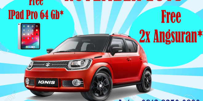 "Beli Suzuki Ignis Terbaru Dapat Ipad 64 GB<span class=""rating-result after_title mr-filter rating-result-5880"" >			<span class=""no-rating-results-text"">No ratings yet.</span>		</span>"