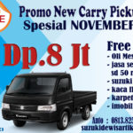 PROMO SUZUKI NEW CARRY PICKUP NOVEMBER 2019