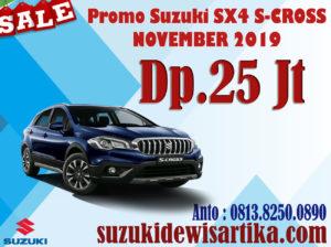 PROMO SUZUKI SX4 S-CROSS NOVEMBER 2019