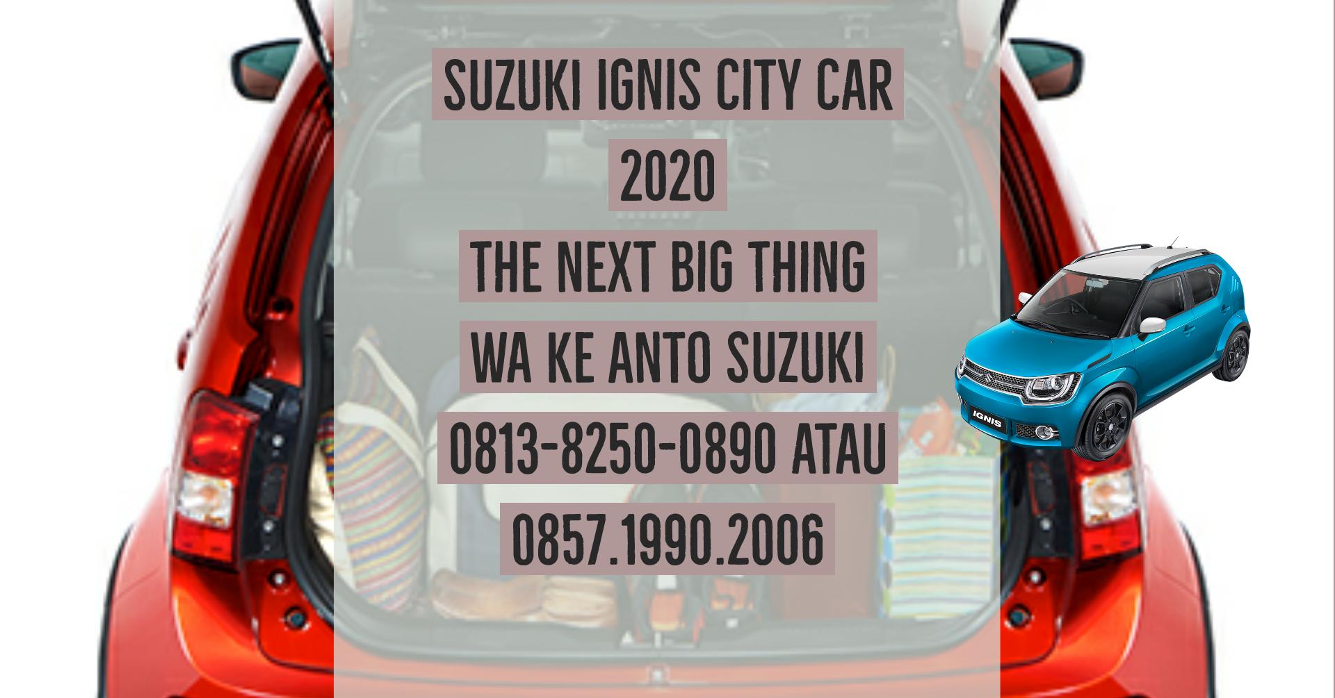 Suzuki Ignis City Car 2020