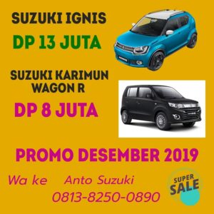 Suzuki Ignis Dp 13 Juta Promo Desember 2019
