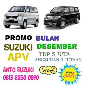 Suzuki APV Interior luas dan Luxury