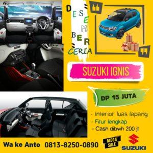 Interior Suzuki Ignis Luas dengan Dashboard penuh dengan Warna dan Modern
