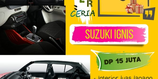 "Elemen Kejutan Dari Suzuki Ignis Terbaru 2019<span class=""rating-result after_title mr-filter rating-result-6559"" ><span class=""no-rating-results-text"">No ratings yet.</span></span>"