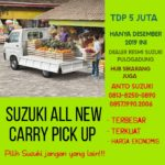 Suzuki All New Carry Pick Up Desember Dp 5 juta