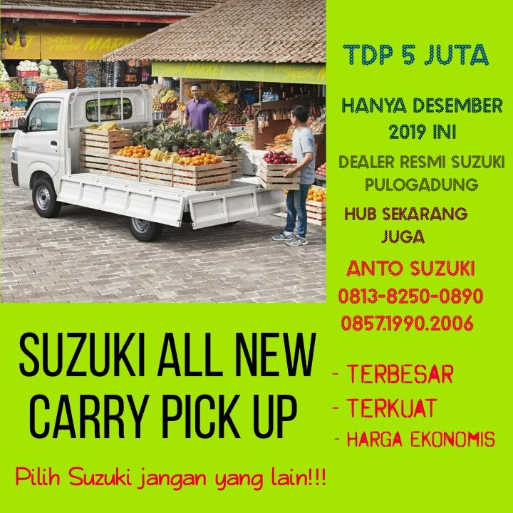 Suzuki All New Carry Pick Up Desember Dp 5 juta