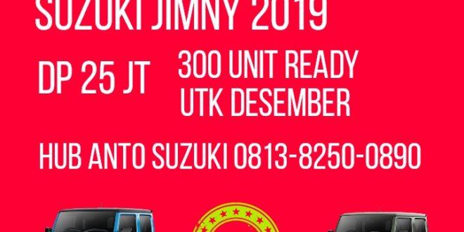"300 Unit Suzuki Jimny dikirim dari Jepang Promo Akhir Tahun 2019<span class=""rating-result after_title mr-filter rating-result-6648"" itemscope itemtype=""http://schema.org/AggregateRating""><span class=""mr-star-rating"">    <i class=""fa fa-star mr-star-full""></i>        <i class=""fa fa-star mr-star-full""></i>        <i class=""fa fa-star mr-star-full""></i>        <i class=""fa fa-star mr-star-full""></i>        <i class=""fa fa-star mr-star-full""></i>    </span><span class=""star-result""><span itemprop=""ratingValue"">5</span>/<span itemprop=""bestRating"">5</span></span><span class=""count"">(<span itemprop=""ratingCount"">1</span>)</span><span itemprop=""itemReviewed"" itemscope itemtype=""http://schema.org/Thing""><meta itemprop=""name"" content=""300 Unit Suzuki Jimny dikirim dari Jepang Promo Akhir Tahun 2019"" /></span></span>"