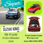 Suzuki Ignis Promo Desember 2019