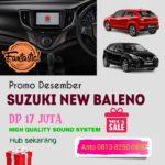 Promo Suzuki New Baleno Desember 2020