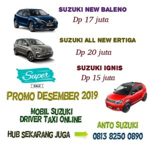 Mobil Suzuki Untuk Taxi Online
