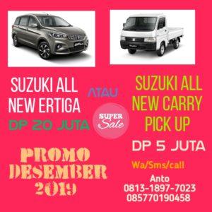 Suzuki All New Ertiga Dp 20 Juta Desember 2019