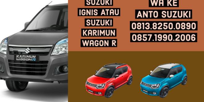 Suzuki Ignis atau Karimun Wagon R