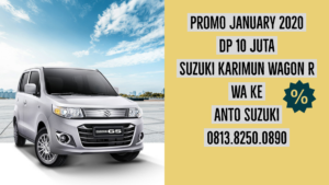 Promo January 2020 Dp 10 Juta Suzuki Karimun Wagon R