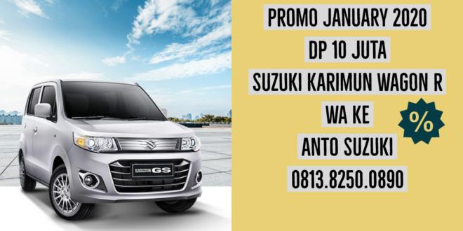 Promo January 2020 Suzuki Karimun Wagon R