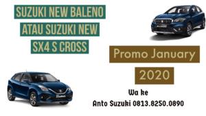 Suzuki New Baleno atau Suzuki New SX4 S Cross