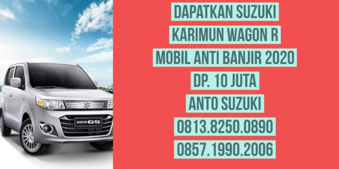 Mobil Suzuki Karimun Wagon R Anti Banjir 2020