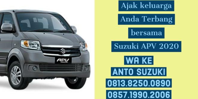 Suzuki APV Mobil Keluarga Terbaik 2020