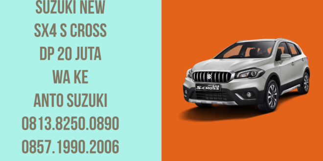 "Promo Super Ringan Suzuki New SX4 S Cross January 2020<span class=""rating-result after_title mr-filter rating-result-7651"" itemscope itemtype=""http://schema.org/AggregateRating"">	<span class=""mr-star-rating"">			    <i class=""fa fa-star mr-star-full""></i>	    	    <i class=""fa fa-star mr-star-full""></i>	    	    <i class=""fa fa-star mr-star-full""></i>	    	    <i class=""fa fa-star mr-star-full""></i>	    	    <i class=""fa fa-star mr-star-full""></i>	    </span><span class=""star-result"">	<span itemprop=""ratingValue"">5</span>/<span itemprop=""bestRating"">5</span></span>			<span class=""count"">				(<span itemprop=""ratingCount"">1</span>)			</span>			<span itemprop=""itemReviewed"" itemscope itemtype=""http://schema.org/Thing""><meta itemprop=""name"" content=""Promo Super Ringan Suzuki New SX4 S Cross January 2020"" /></span></span>"