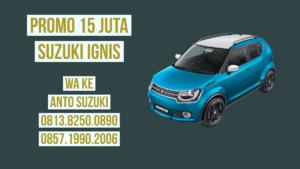Promo 15 Juta Suzuki Ignis