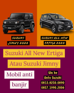 2 Mobil Pilihan Suzuki Anti Banjir 2020