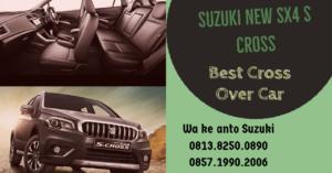 Interior Mewah Suzuki New SX4 S Cross Terbaru Tahun 2020