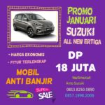 Promo Januari 2020 Suzuki All New Ertiga Dp 18 juta