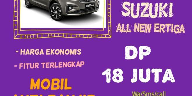 Promo Januari 2020 Suzuki All New Ertiga Dp 18 juta