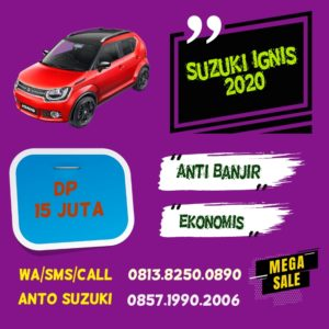 Suzuki Ignis 2020 Dp 15 juta Anti Banjir
