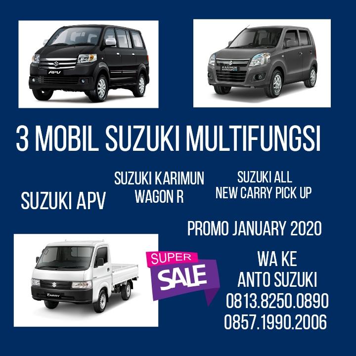 3 Mobil Suzuki Multifungsi