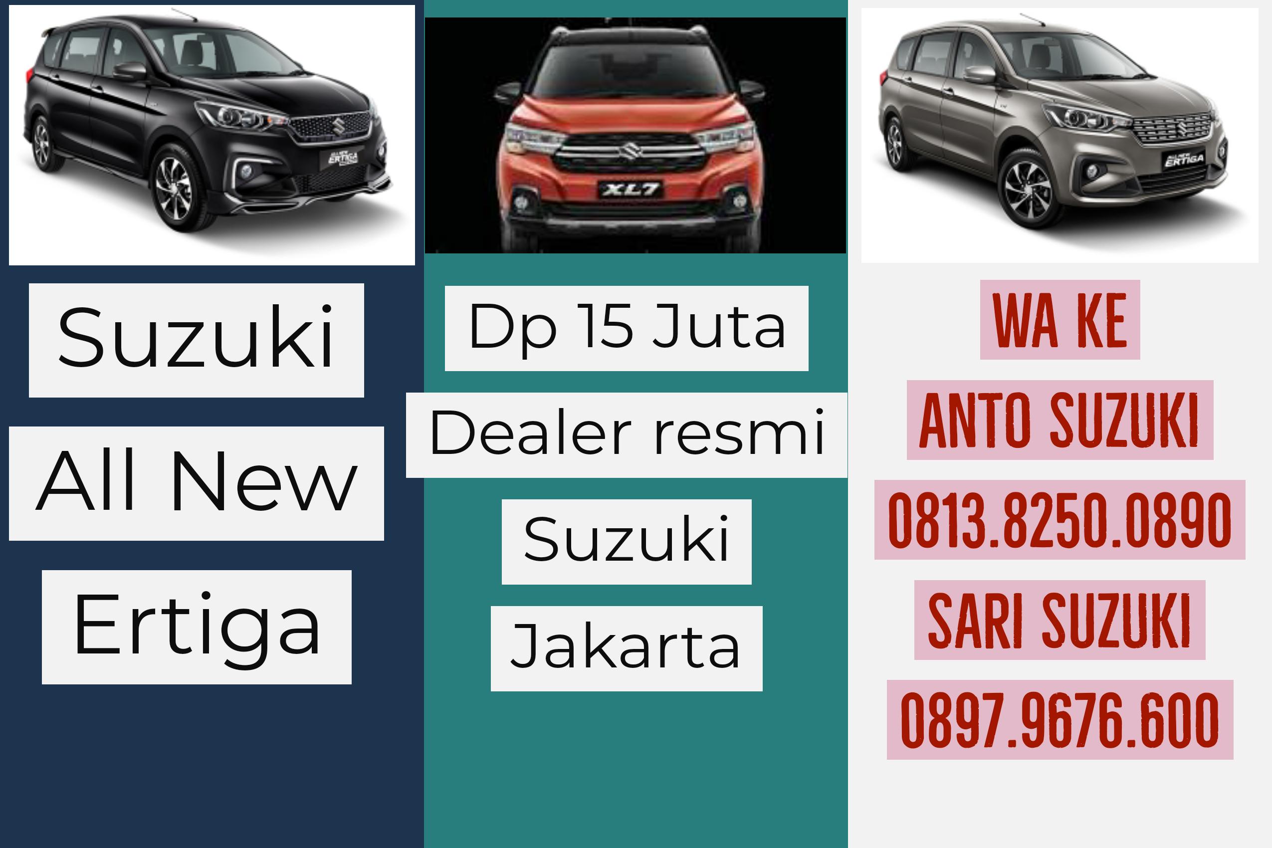 Jenis Suzuki All New Ertiga