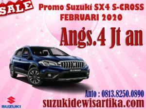 PROMO SUZUKI SX4 S-CROSS FEBRUARI 2020