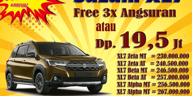 "Promo Suzuki XL7, Dp dan Angsuran Ringan Free 3x Angsuran<span class=""rating-result after_title mr-filter rating-result-7935"" ><span class=""no-rating-results-text"">No ratings yet.</span></span>"