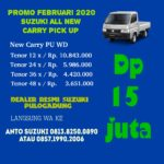 Suzuki All New Carry Pick Up