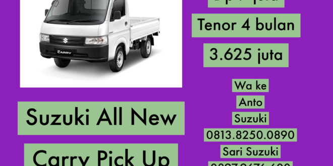 "GUNAKAN SUZUKI ALL NEW CARRY PICK UP UNTUK USAHA ANDA<span class=""rating-result after_title mr-filter rating-result-8103"">			<span class=""no-rating-results-text"">No ratings yet.</span>		</span>"