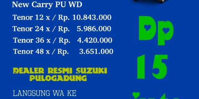 "Promo Kredit Suzuki New Carry Pick Up Dealer Suzuki Pulogadung<span class=""rating-result after_title mr-filter rating-result-8875""><span class=""no-rating-results-text"">No ratings yet.</span></span>"