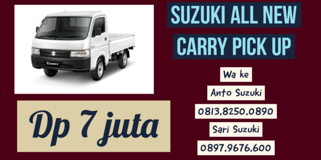 Suzuki All New Carry Pick Up terbaru