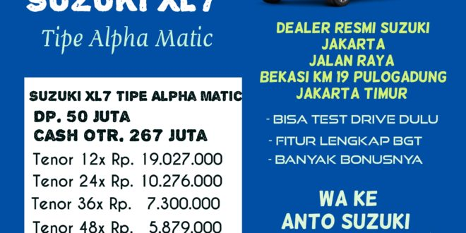 """Dealer Suzuki Pulogadung Undang Warga Jakarta Datang Pameran Suzuki Setiap Sabtu<span class=""""rating-result after_title mr-filter rating-result-9016""""><span class=""""no-rating-results-text"""">No ratings yet.</span></span>"""