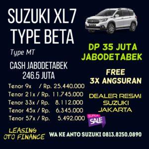 Suzuki XL7 type beta