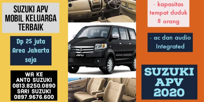 3 Keuntungan Memilih Suzuki New APV