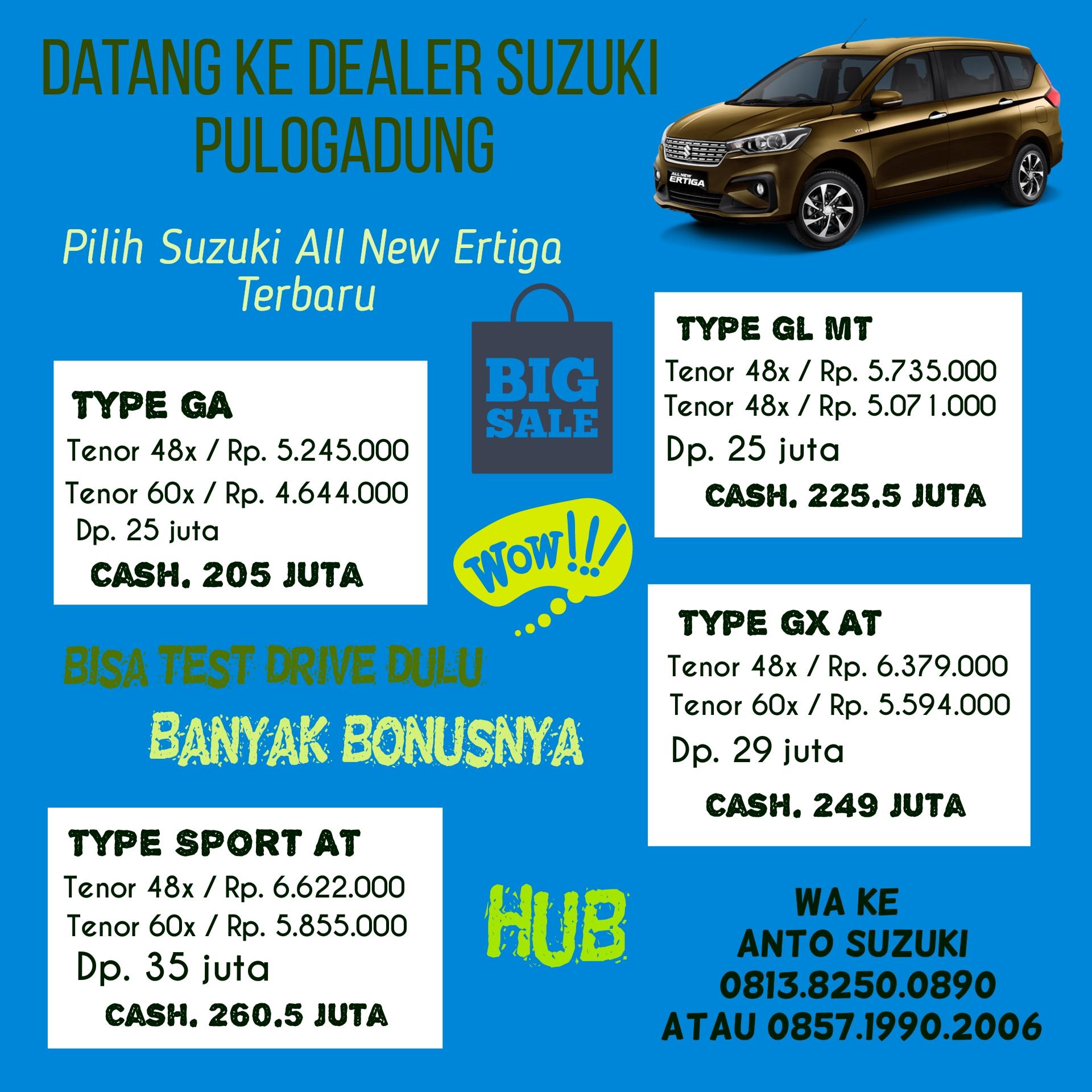 promo Suzuki All New Ertiga