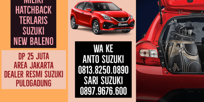 """Suzuki New Baleno Mobil Executive Muda<span class=""""rating-result after_title mr-filter rating-result-8483""""><span class=""""no-rating-results-text"""">No ratings yet.</span></span>"""
