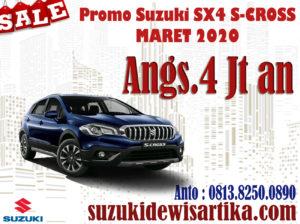 PROMO SUZUKI SX4 S-CROSS MARET 2020