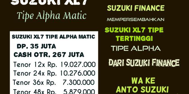 Suzuki XL7 Alpha Model