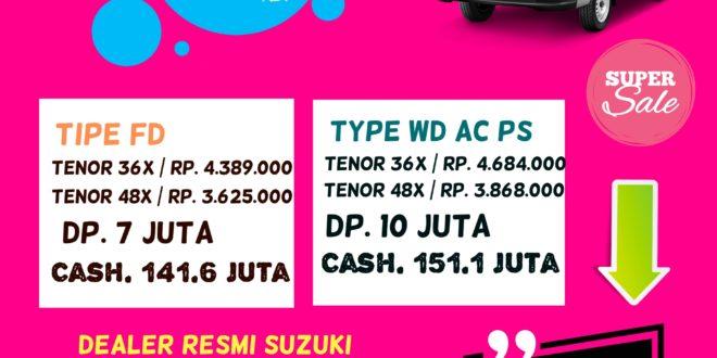 Suzuki all new Carry Pick Untuk jasa pindah kos