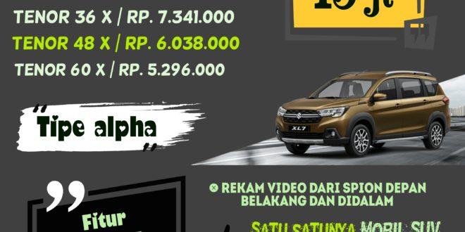 promo Suzuki XL7 dengan Suzuki Vstrom