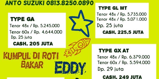 roti bakar Eddy dikunjungi Suzuki Ertiga Club Indonesia